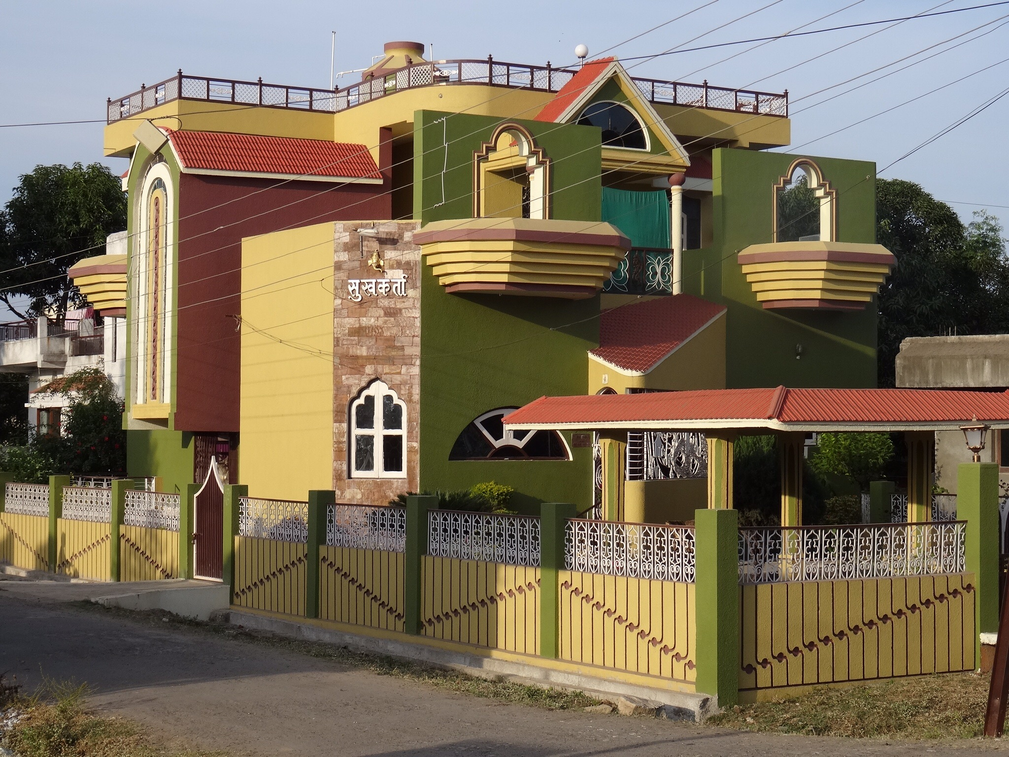In India you will find buildings of a sort to transfix and transport your  sensibilities to the highest planes and also to drag them to the saddest  and most  Post Modern Mughals   Ashby s World. Post Modern Buildings In India. Home Design Ideas